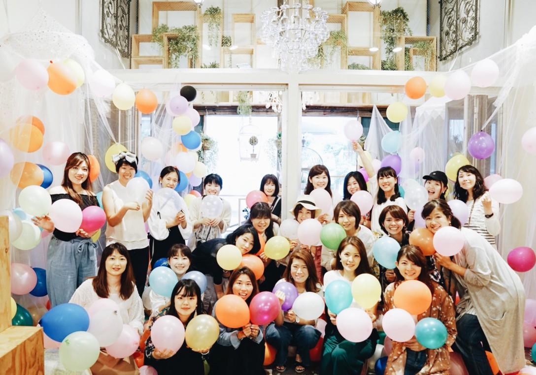 <ソニーストア名古屋>バルーンいっぱいのポートレート撮影会を開催しました♩