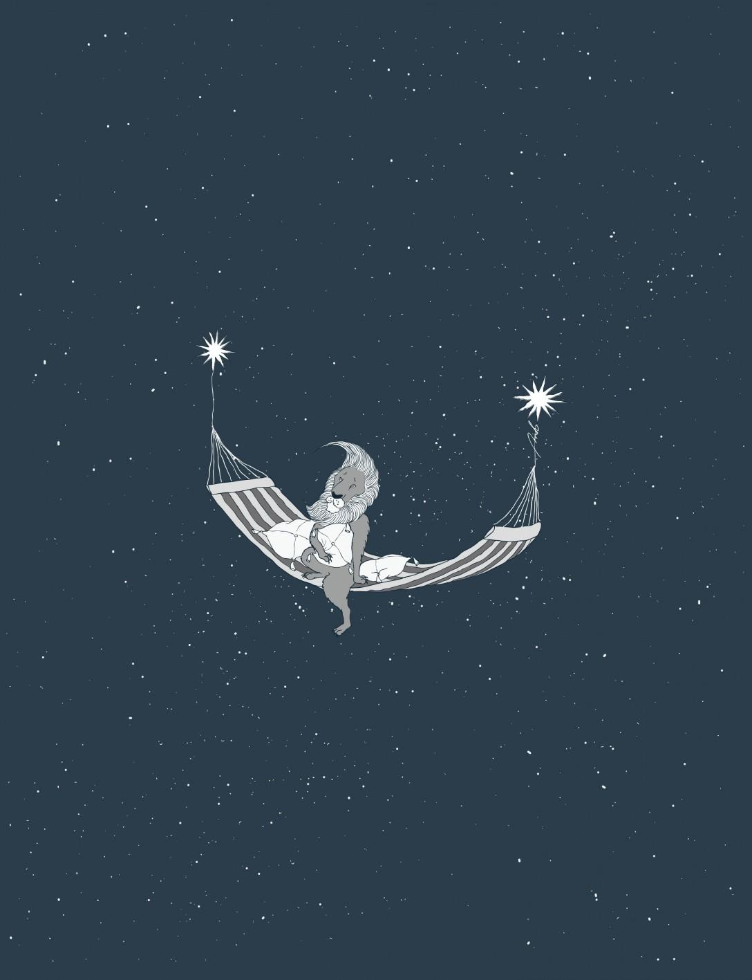 夜空のさんぽ