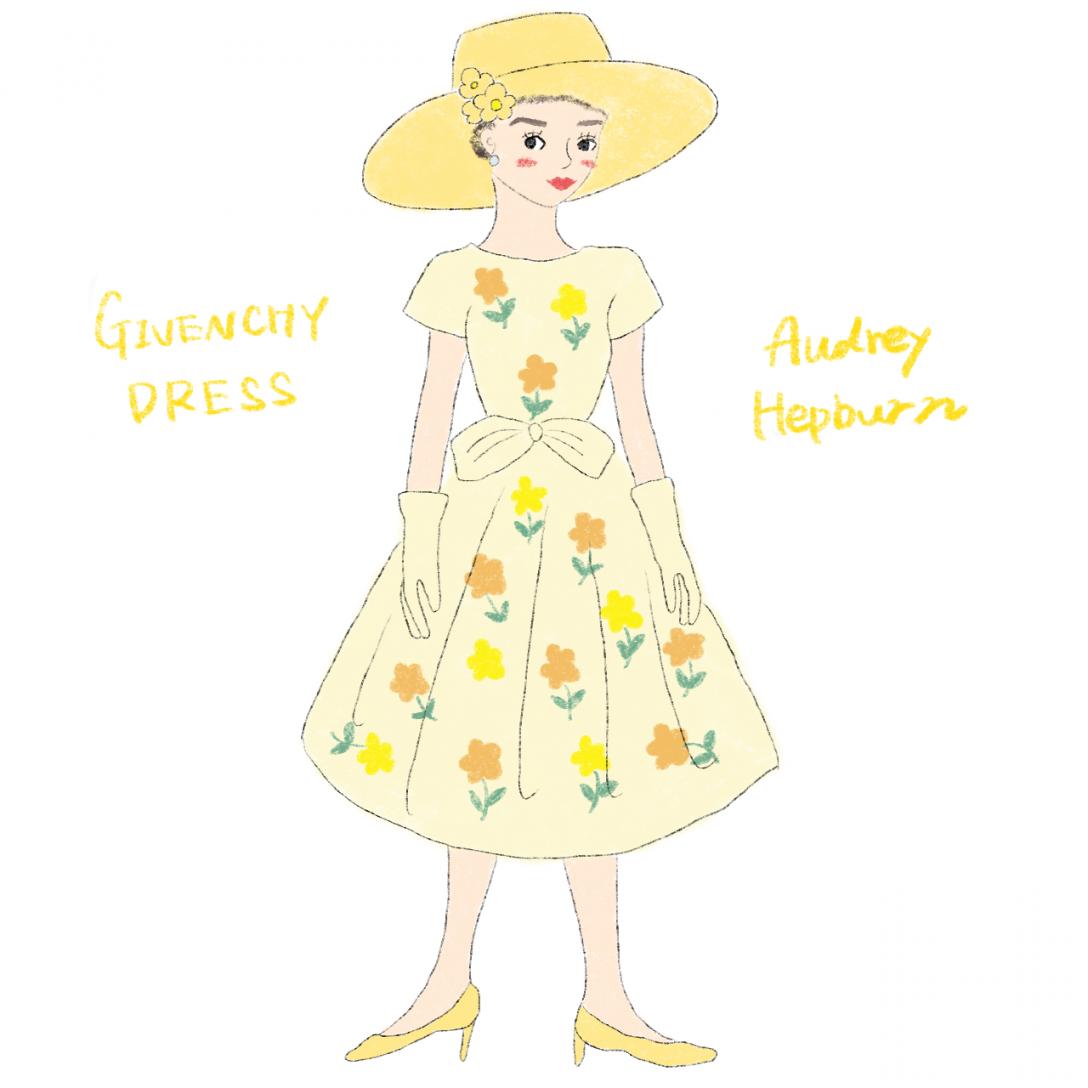 オードリーの映画ファッション
