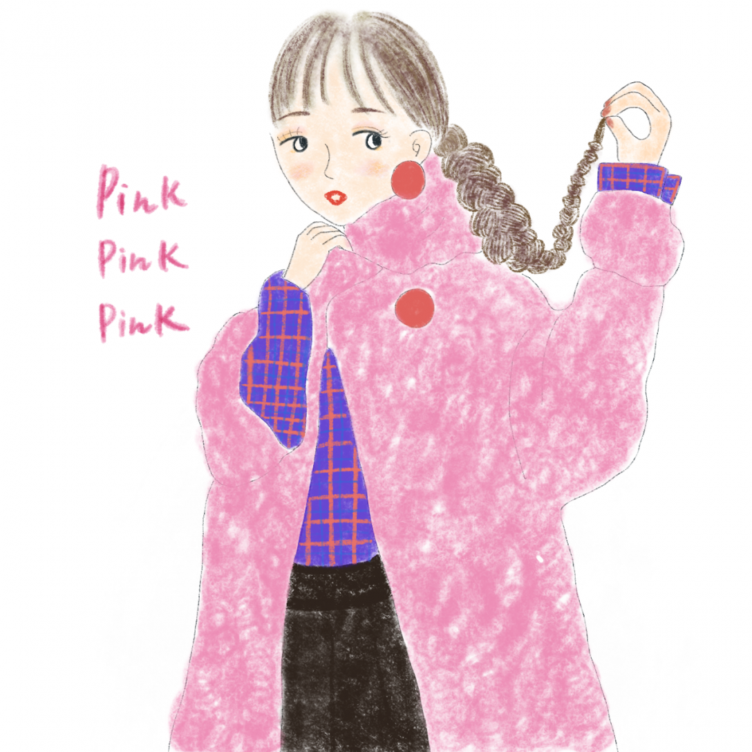 _Pinkファッション