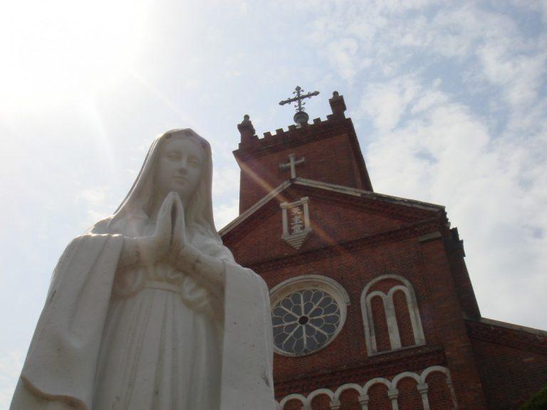 黒島天主堂(※現在工事中)