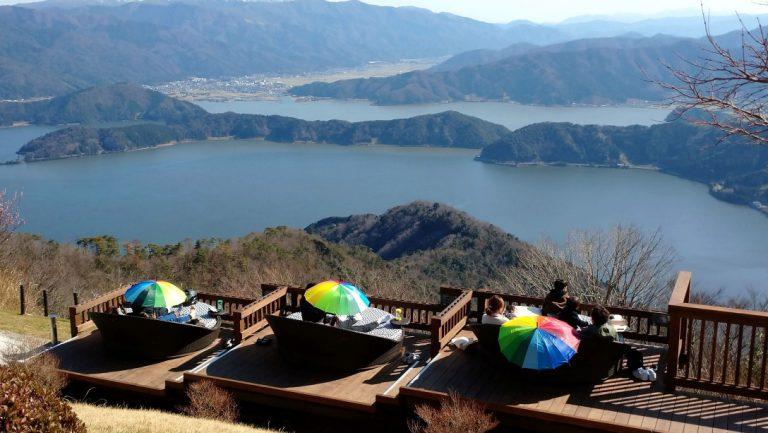 ★レインボーライン山頂公園(五湖テラス)