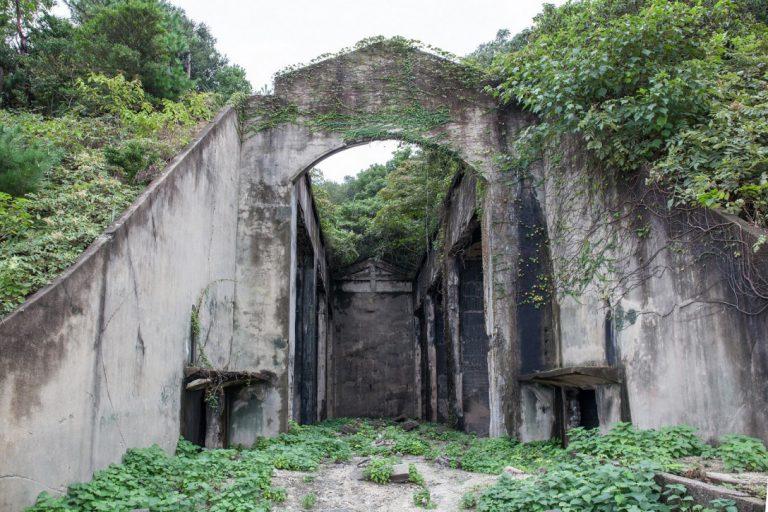 大久野島6(長浦毒ガス貯蔵庫跡2)
