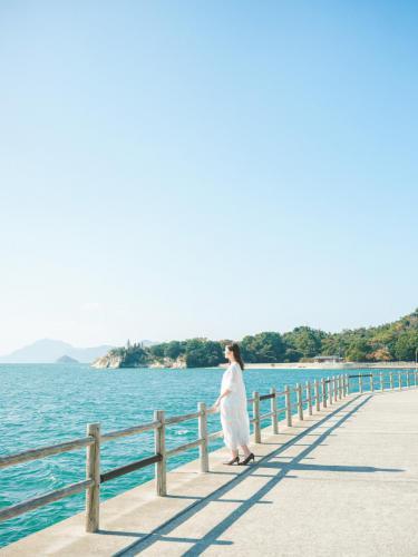 大久野島散策は最高のロケーション!
